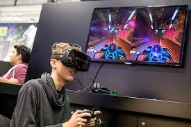 Playing Zino VR Game