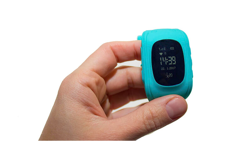 wearable gps tracking device
